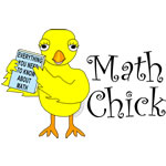 Math Book Chick Text